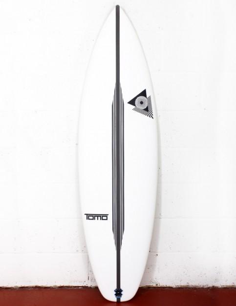 Firewire LFT SKX surfboard 6ft 5 Futures - White