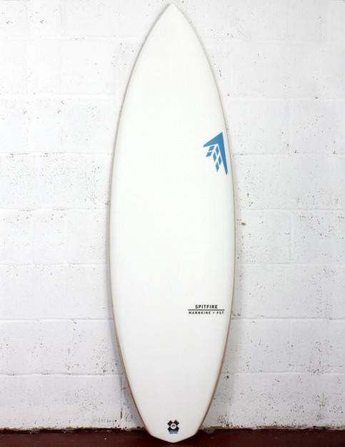 Firewire FST Spitfire Surfboard 5ft 8 FCS II - White