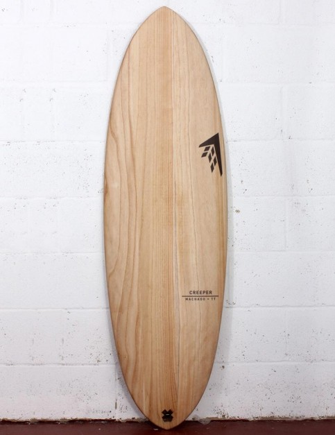 Firewire Timbertek Creeper surfboard 5ft 4 FCS II - Natural Wood