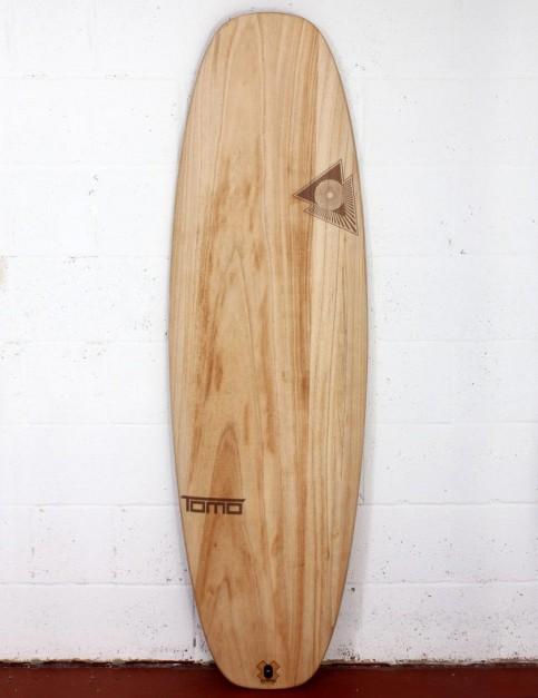 Firewire Timbertek Evo surfboard 6ft 4 Futures - Natural Wood