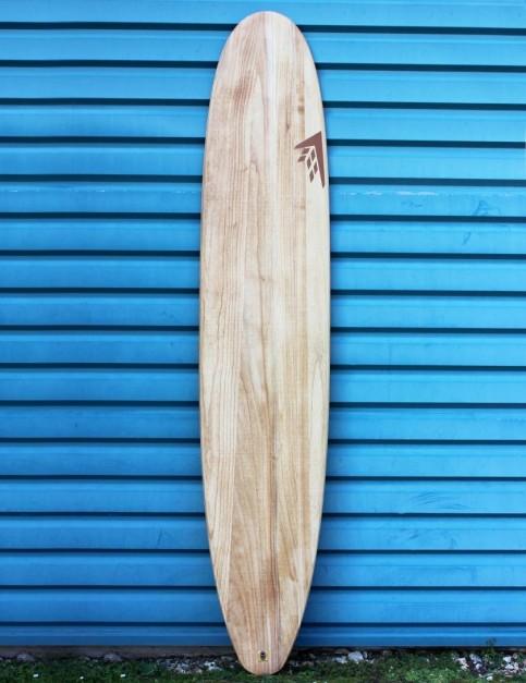 Firewire Timbertek Gem surfboard 9ft 5 Single Fin - Natural Wood