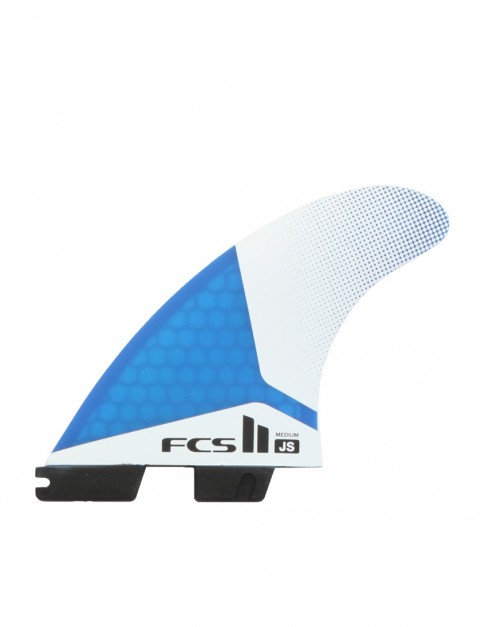 FCS II JS PC Tri-Quad Five Fins Medium - Blue