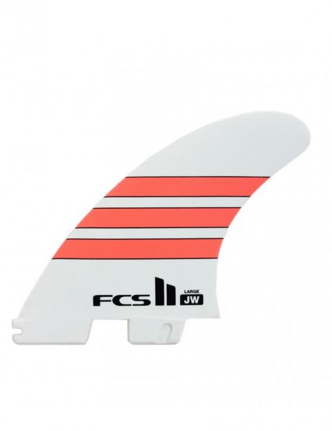 FCS II JW PG Tri Fin Large - Orange Stripe