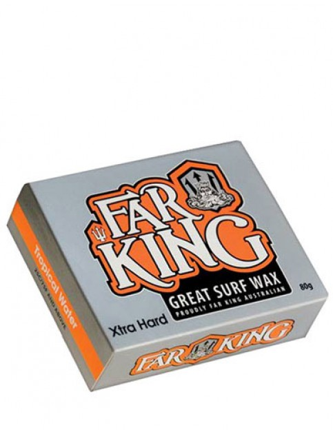 Far King Tropical Water Wax Extra hard surf wax - Misc