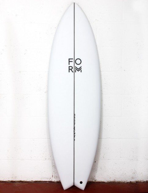 Form ADPT surfboard 6ft 5 FCS II - White