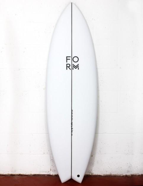 Form ADPT surfboard 6ft 3 FCS II - White