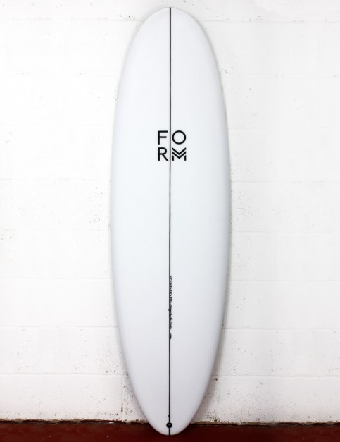 Form Flow Stik surfboard 6ft 4 FCS II - White