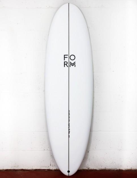 Form Flow Stik surfboard 6ft 8 FCS II - White