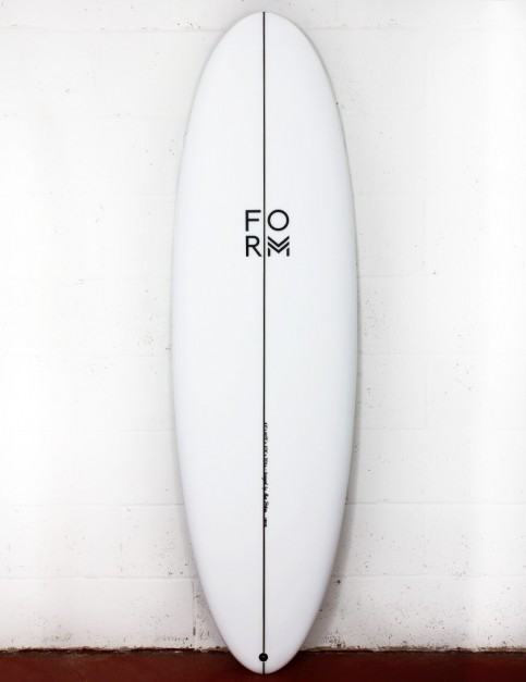 Form Flow Stik surfboard 6ft 6 FCS II - White