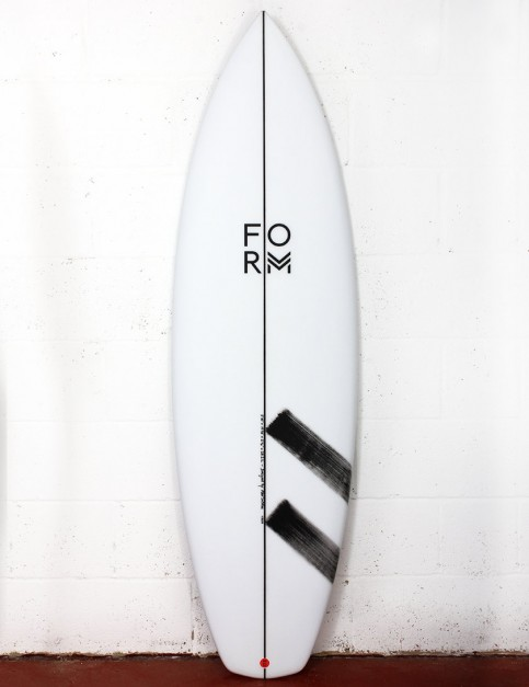 Form Fruit Scoop surfboard 6ft 2 FCS II - White