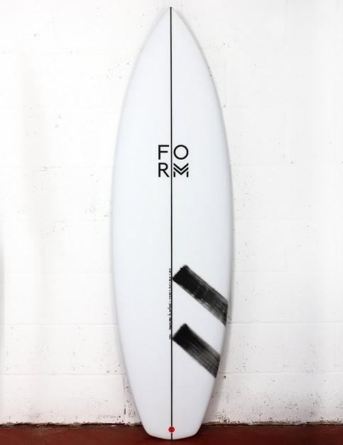 Form Fruit Scoop surfboard 5ft 10 FCS II - White