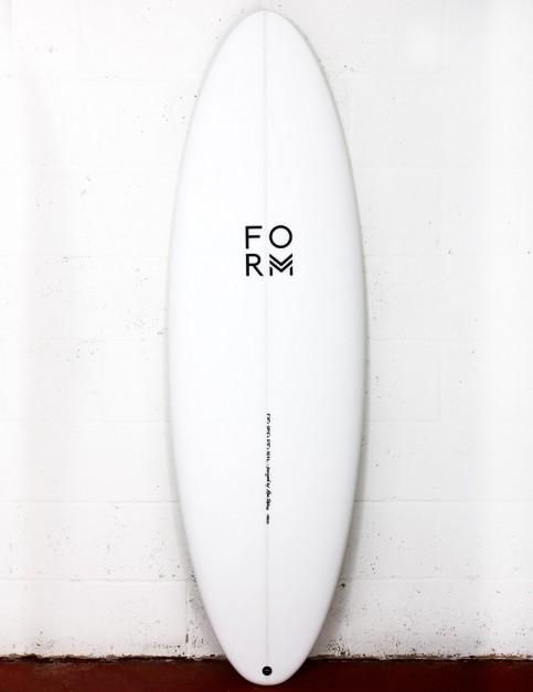 Form High Line surfboard PL EPS 6ft 4 FCS II - White