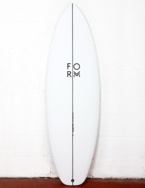 Form Mode X surfboard 5ft 6 FCS II - White