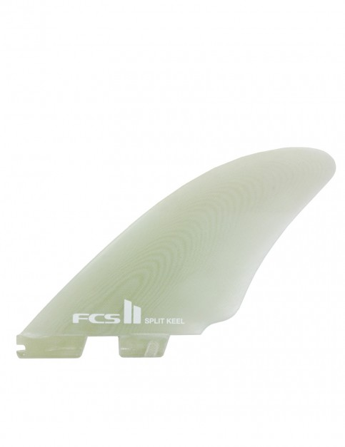 FCS II Split Keel PG Quad Fins Medium - Natural