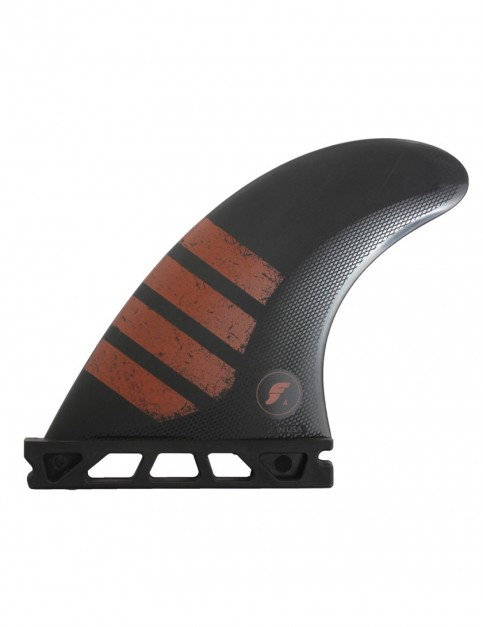 Futures F4 Alpha Tri Fin Small - Carbon/Red