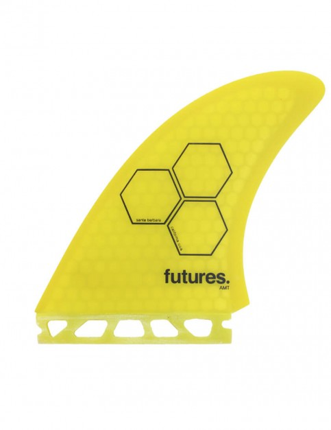 Futures AMT Twin Fin + Trailer - Yellow