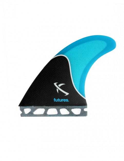 Futures Lost Honeycomb Five Fin Set Large - Black/Blue