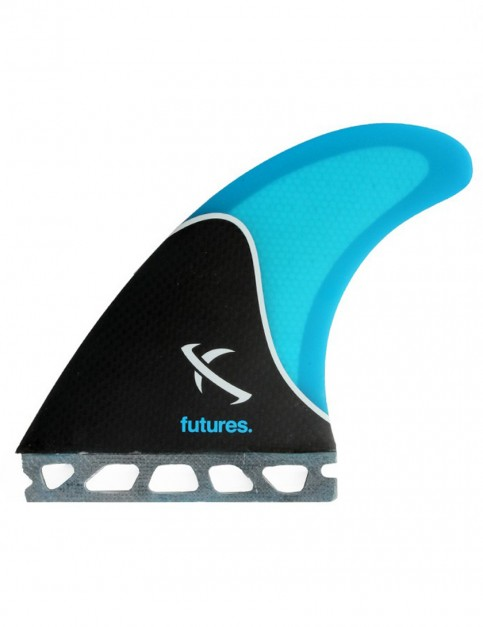 Futures Lost Honeycomb Five Fin Set Large - Black/Blue
