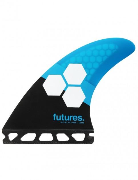 Futures AM1 Honeycomb Tri Fins Medium - Blue/Black