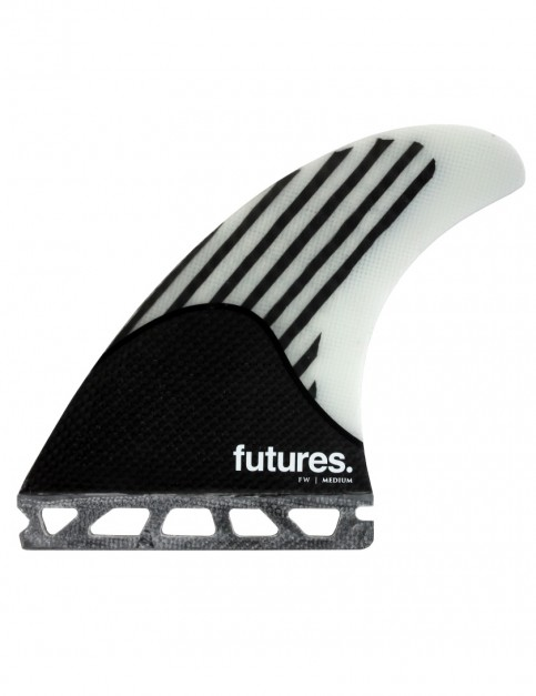 Futures Firewire Tri Fins Medium - White/Carbon