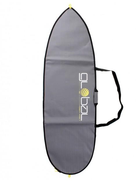 Global Twenty Four Seven Shortboard 5mm surfboard bag 7ft 0 - Grey