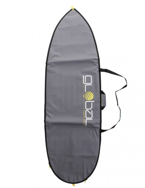 Global Twenty Four Seven 5mm Hybrid Fish surfboard bag 6ft 0 - Grey