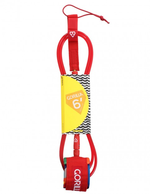 Gorilla Regular Surfboard Leash 6ft - Hyper