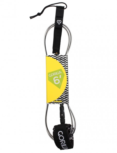 Gorilla Comp Surfboard Leash 6ft - Stripy Fkr