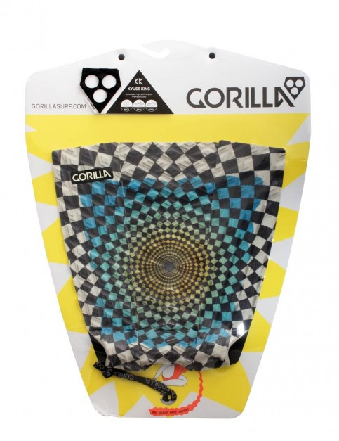 Gorilla Kyuss Ooh Ahh surfboard tail pad - Multi Colour
