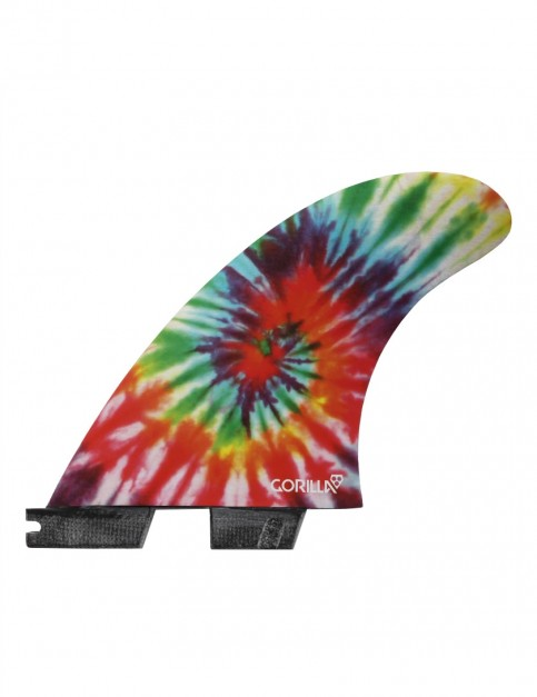 Gorilla X FCS II Moon Beams & Mellon Tri-Quad fins Medium - Multi Colour