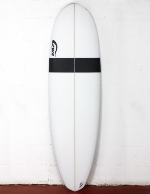Grace Demibu surfboard 6ft 8 Futures - White