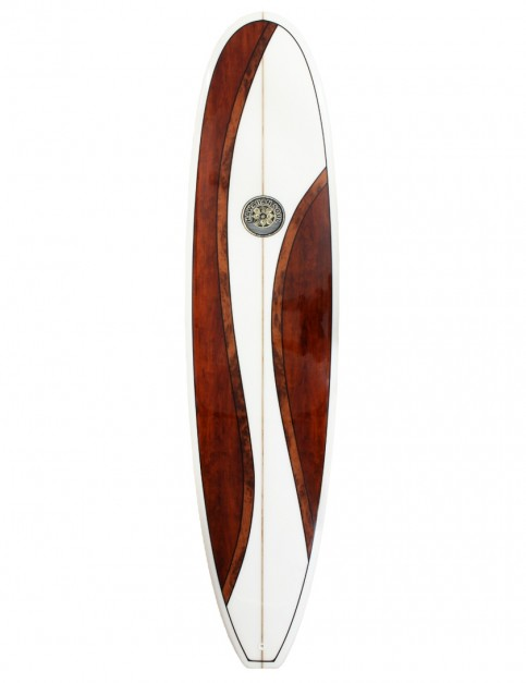 Hawaiian Soul Mal Veneer surfboard 9ft 0 - Walnut
