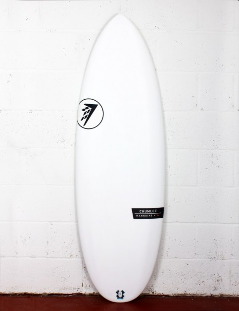 Firewire Helium Chumlee surfboard 5ft 3 Futures - White
