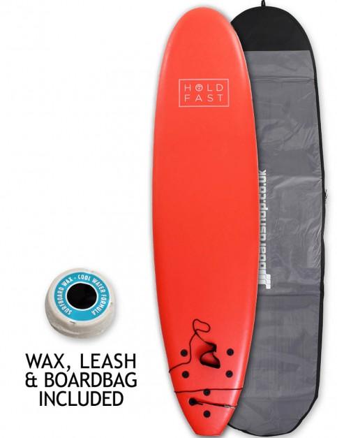 Hold Fast Mini Mal Foam Surfboard Package 7ft 0 - Red