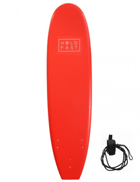 Hold Fast Mini Mal Foam Surfboard 7ft 0 - Red