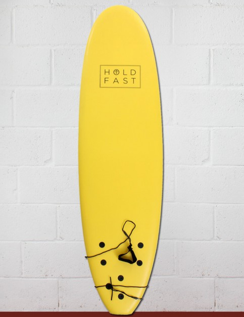 Hold Fast Kids Foam Surfboard 6ft 2 - Yellow