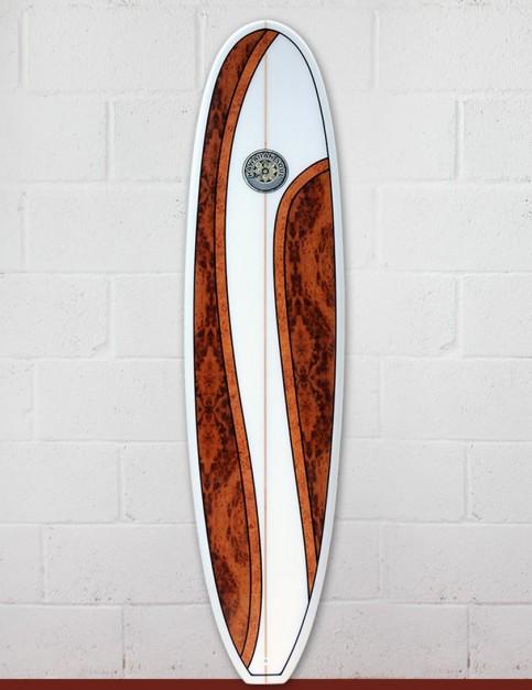 Hawaiian Soul Mini Mal surfboard 7ft 4 - Walnut