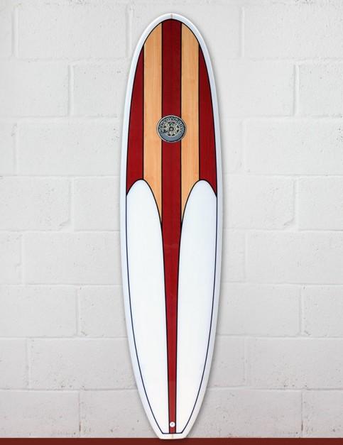 Hawaiian Soul Mini Mal surfboard 8ft 0 - Cherry