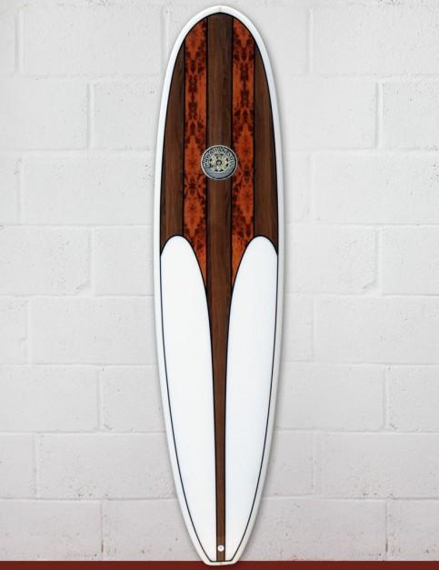 Hawaiian Soul Mini Mal surfboard 7ft 0 - Walnut