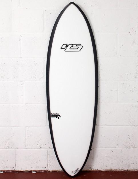 Haydenshapes Hypto Krypto FutureFlex surfboard 6ft 0 FCS II - White