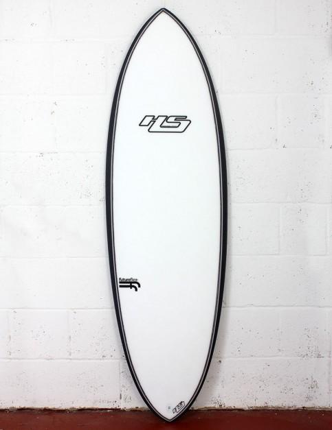 Haydenshapes Hypto Krypto FutureFlex surfboard 5ft 8 FCS II - White