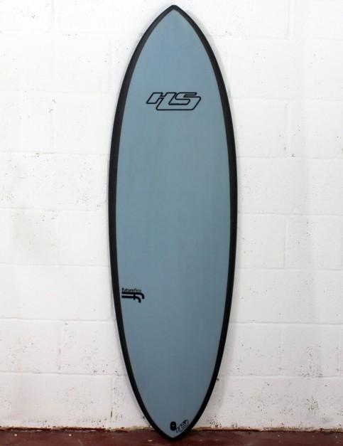 HaydenShapes Hypto Krypto FutureFlex surfboard 5ft 8 Futures - Blue Tint