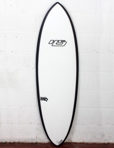Haydenshapes Hypto Krypto FutureFlex surfboard 5ft 10 Futures - White