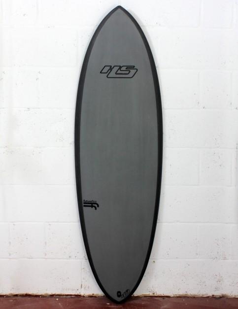 Haydenshapes Hypto Krypto FutureFlex surfboard 5ft 8 Futures - Grey Tint