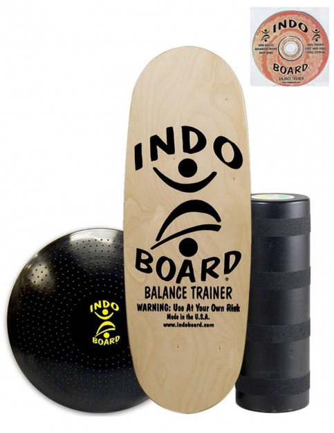Indo Board Pro Training Pack Balance Trainer - Natural