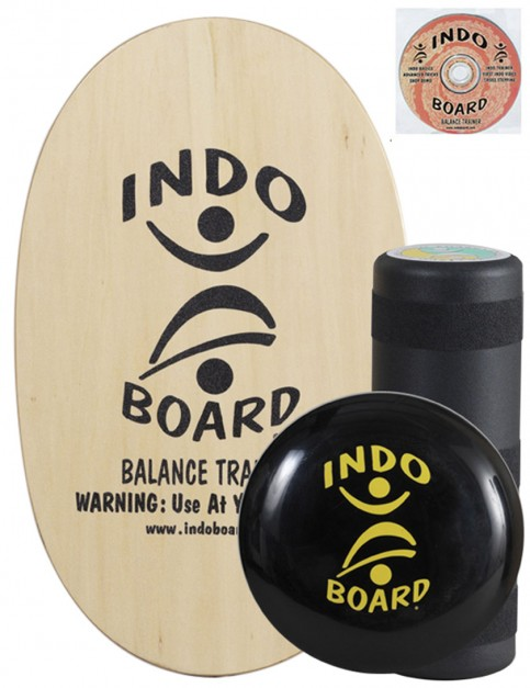 Indo Board Original Training Pack Balance Trainer - Natural