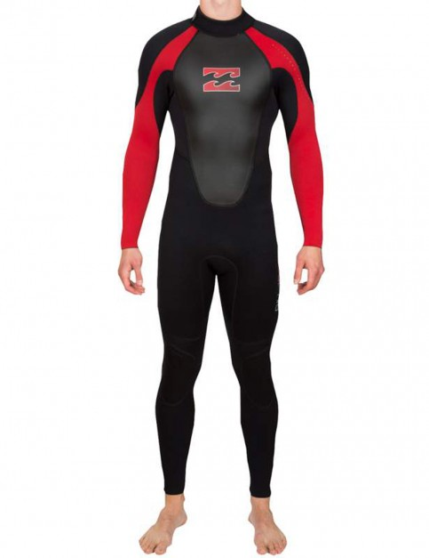Billabong Intruder 3/2mm wetsuit 2018 - Red