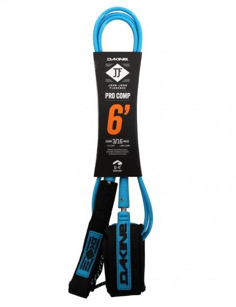 DaKine John John Florence Pro Comp surfboard leash 6ft - Black/Blue