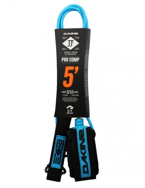 DaKine John John Florence Pro Comp surfboard leash 5ft - Black/Blue