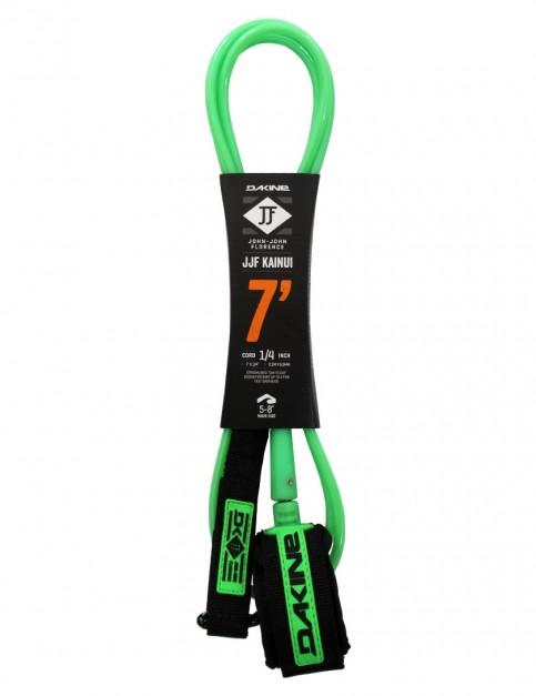 DaKine John John Florence Kainui surfboard leash 7ft - Black/Green